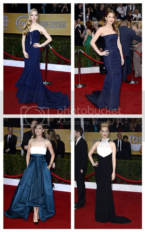 2013 SAG Awards Red Carpet Fashion Style