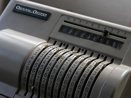 Machine à calculer Original-Odhner