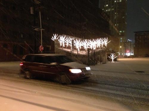 Holiday lights, Jersey City