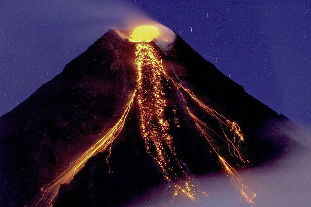 mayon stratovolcano