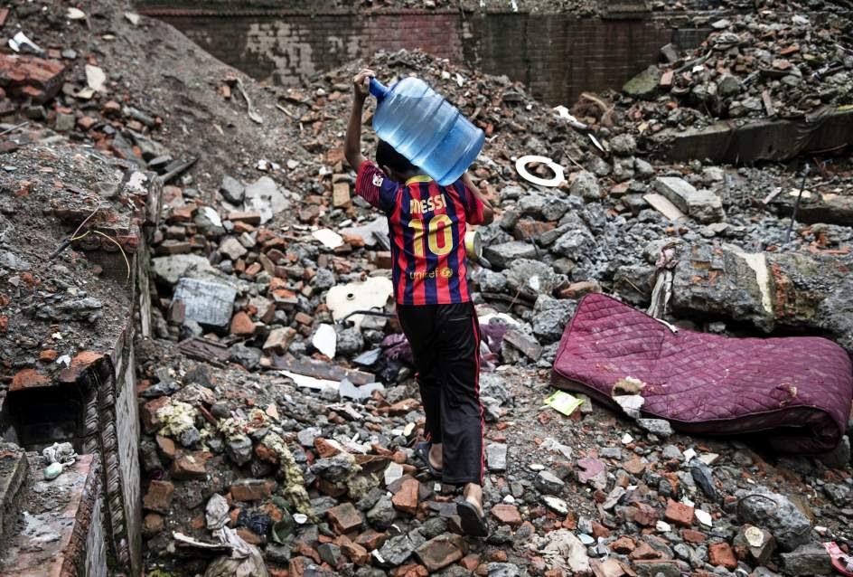 Vuelta a la normalidad en Nepal