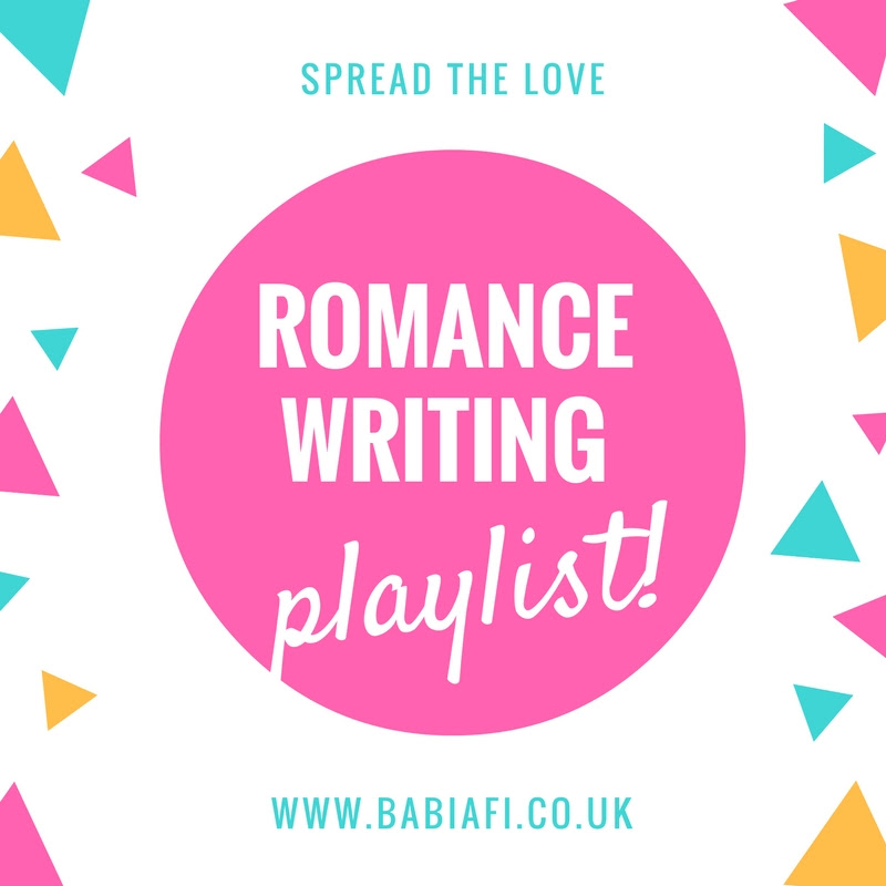 Spread the Love playlist - music to write romance to