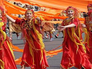 Carnival in Saint Petersburg, Russia