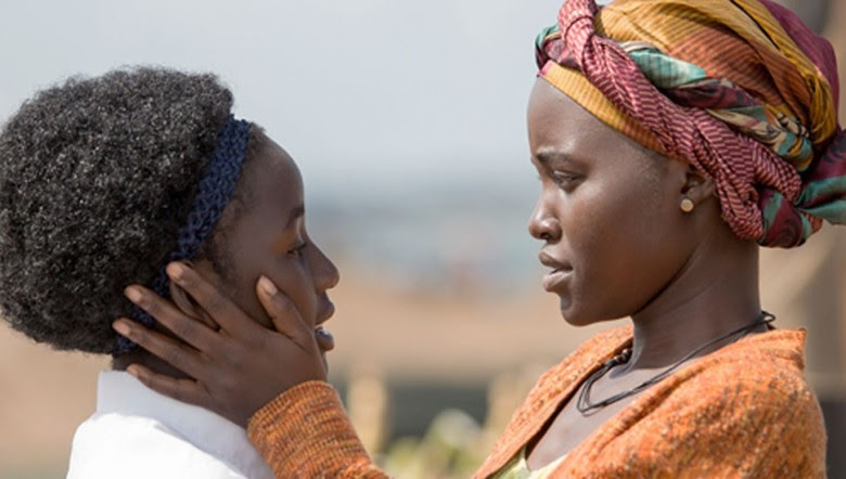 Image result for Katende and wife queen of katwe scenes