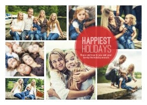 Simply Christmas Holiday Photo Card by Mixbook