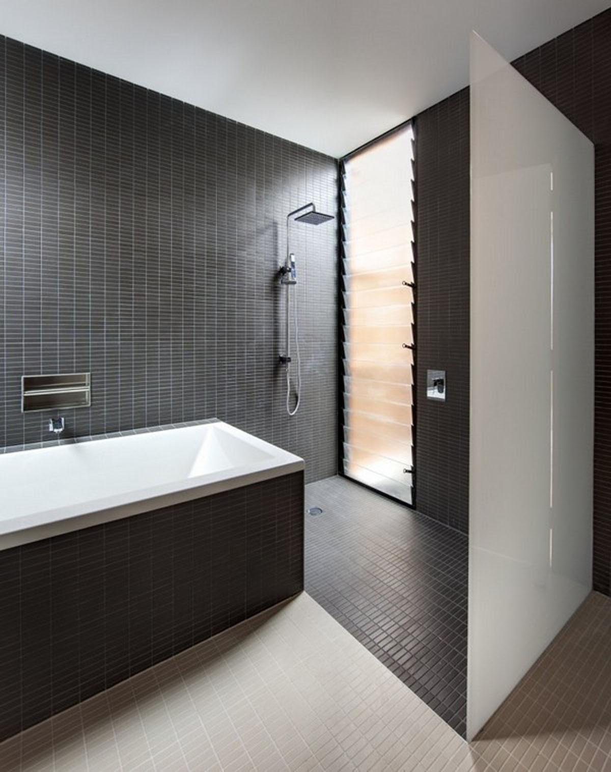 Black and White Theme for Minimalist Bathroom Ideas ...
