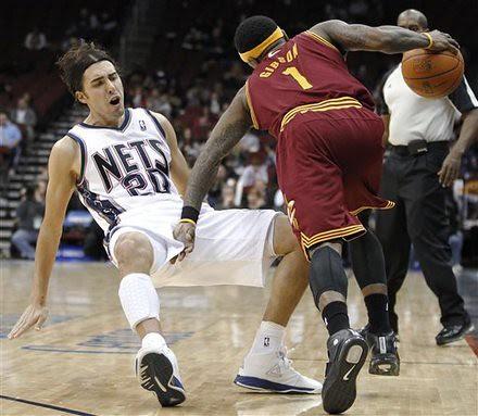 APTOPIX Cavaliers Nets Basketball