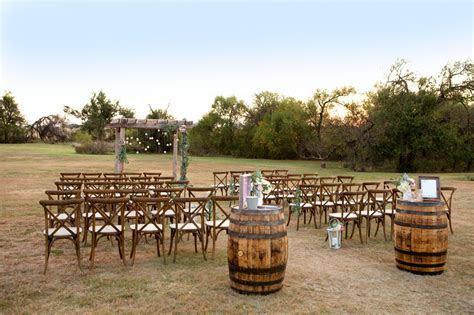 Rustic Outdoor Wedding Ceremony   Affordable DIY Wedding Ideas
