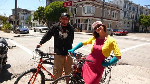 KT Rocks the Bike with Adam