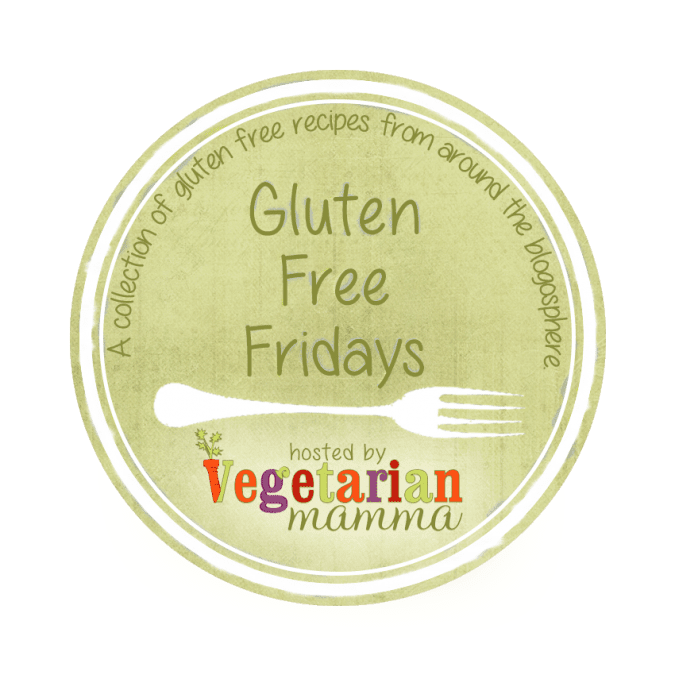 Gluten Free Fridays @vegetarianmamma.com Sharing glutenfree recipes for all
