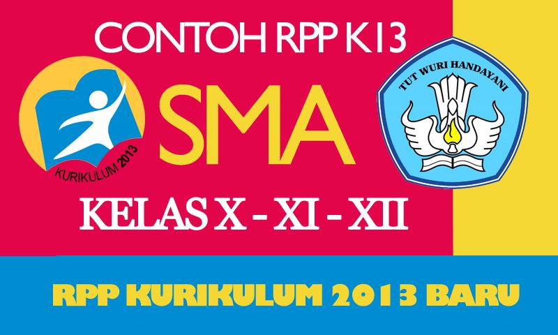 RPP Kurikulum 2013 SMA