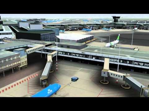 FSX P3D Mega Airport Amsterdam Download - FRN Simulation