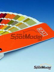SpotModel: Libro - Carta de colores RAL