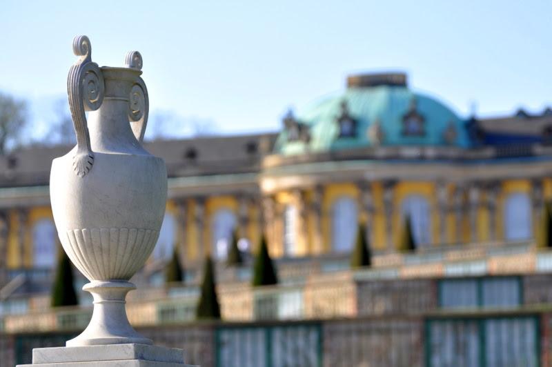 Vase - Schloss Sanssouci