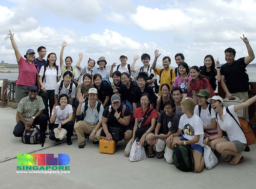 TeamSeagrass at Chek Jawa Jan 07