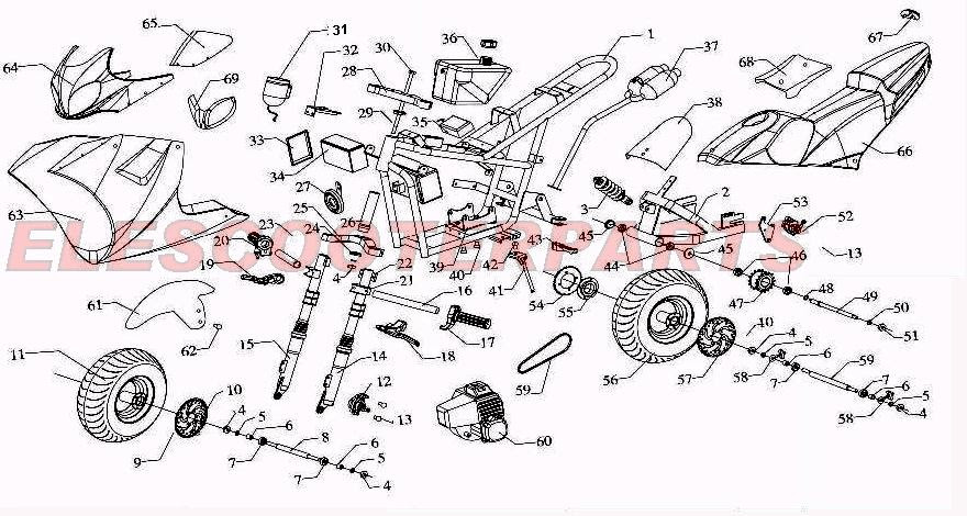 49cc 2 stroke pocket bike wiring diagram image 6
