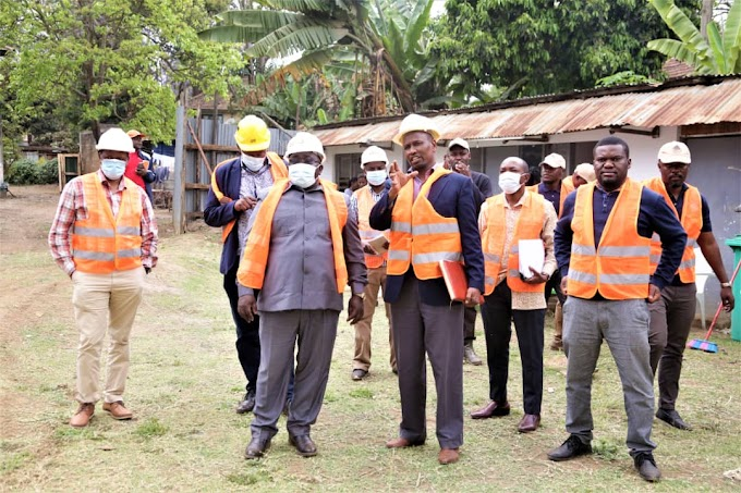 Naibu Waziri Kasekenya aiagiza TBA kukamilisha ujenzi jengo la makazi na biashara