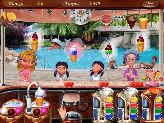 Ice Cream Mania Free PC Game Screenshot