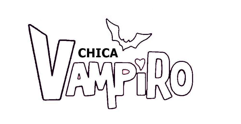 Coloriage Logo De Chica Vampiro à Imprimer