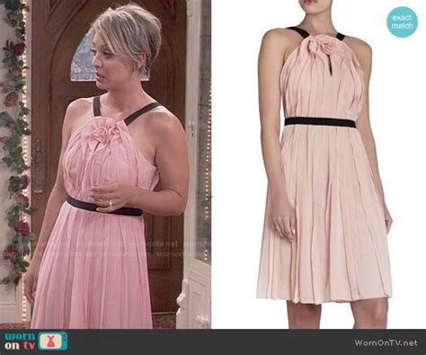 Bianca Dress   The Big Bang Theory Style & Clothes by