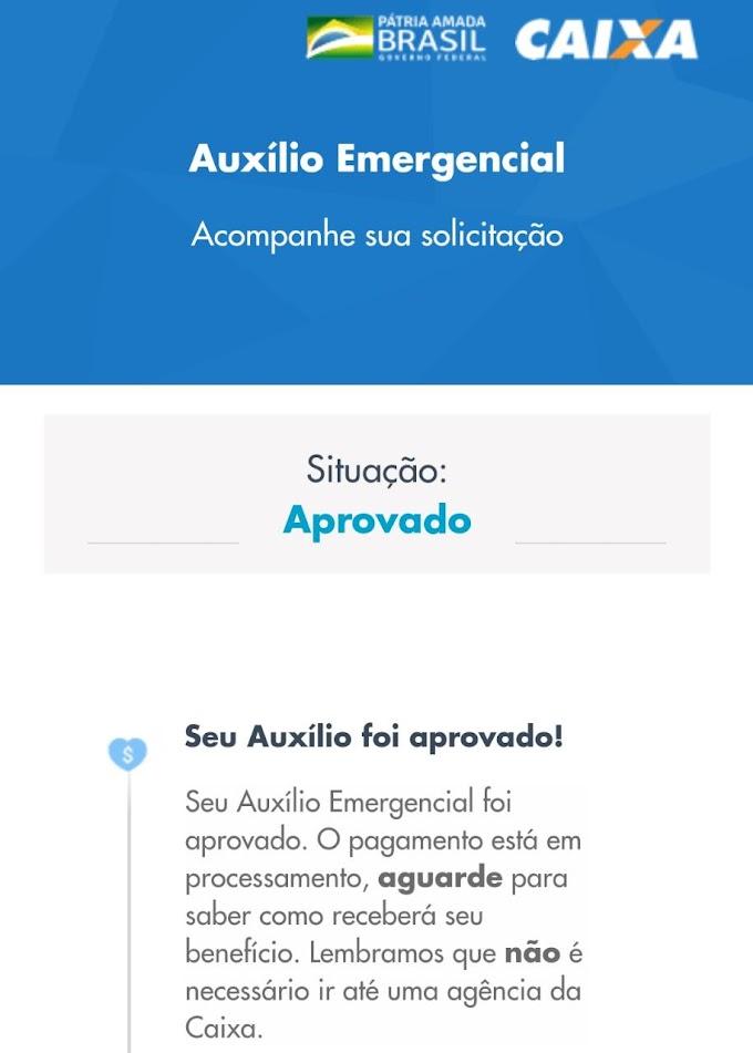 AUXÍLIO EMERGENCIAL: Caixa divulga resultado de cadastros feitos pelo site ou aplicativo