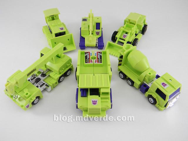 Transformers Devastator (Constructicons) - G1 Encore - modo alterno