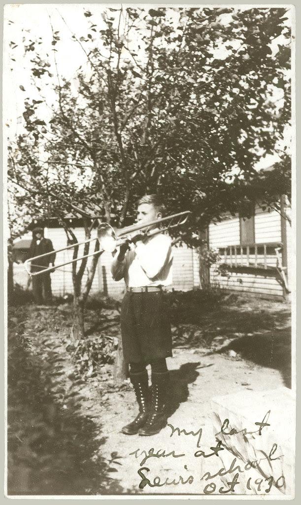 Guy with trombone
