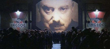 A scene from director Michael Radford's version of Orwell's classic novel - 1984. (photo: MGM Studios Inc.)
