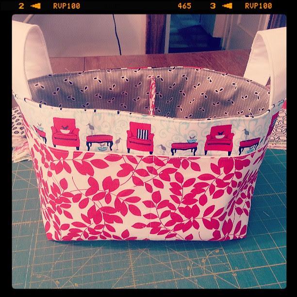 Noodlehead basket #wipitwed