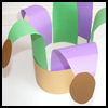 Mardi<br />  Gras Jester Hat  : Crafts Ideas for Parades