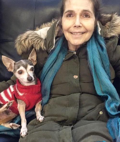 Cuando le quedaba poco tiempo de vida encontró el lugar perfecto para cuidar a sus cachorros