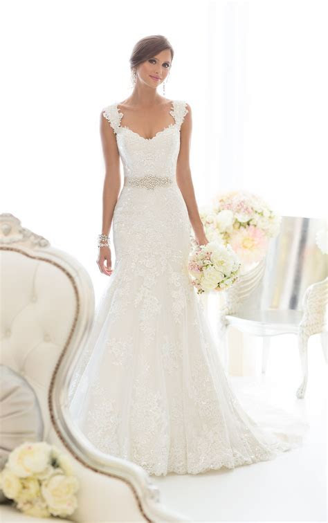 Beautiful Lace Wedding Dress by   FLEUR   The Find