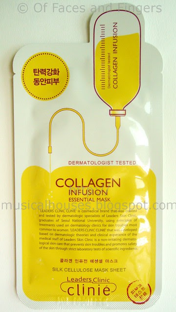 leaders clinic collagen infusion mask 1