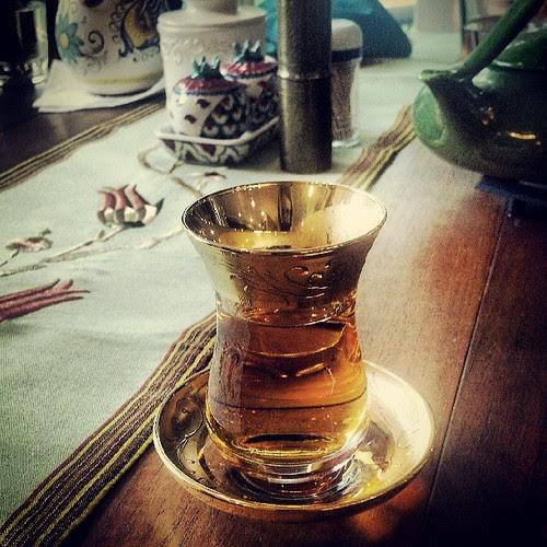 Apple tea by antiquerain
