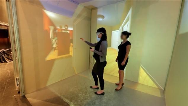 Le Laboratoire de Cyberpsychologie de l'UQO peut être visité en ligne.