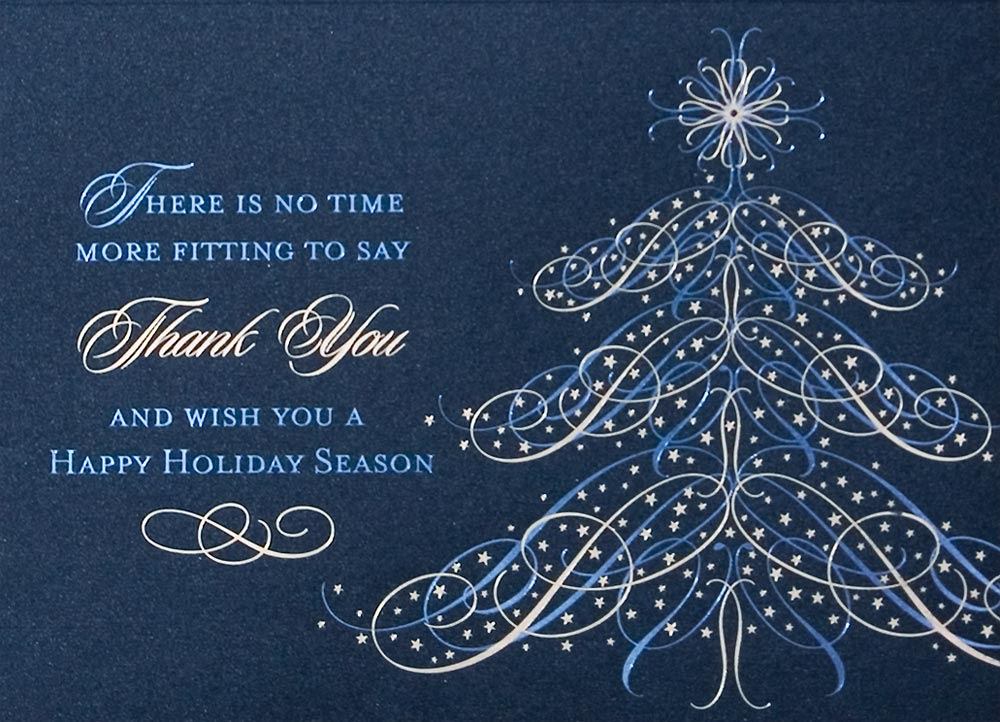 Christmas Card For Business Customers - Xmast 4
