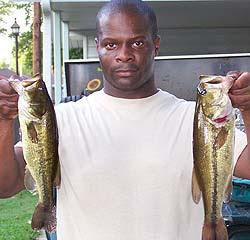 Lake Fort Sill largemouth bass