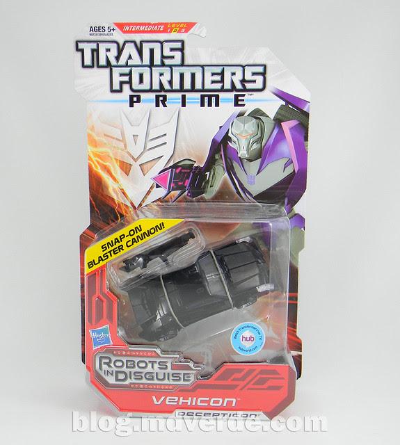 Transformers Vehicon Deluxe - Prime RID - modo