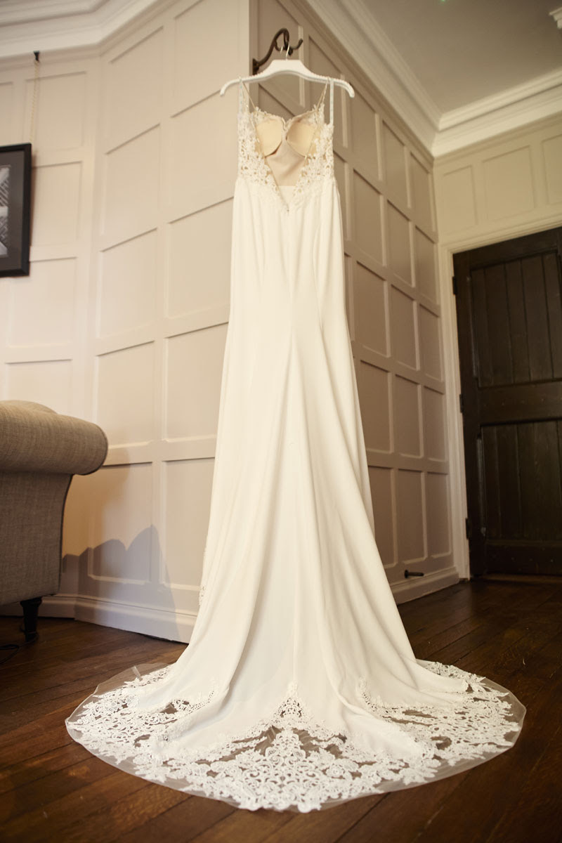 Beautiful Wedding Dress Lanwades Hall Wedding Photos - helloromancephotography.com