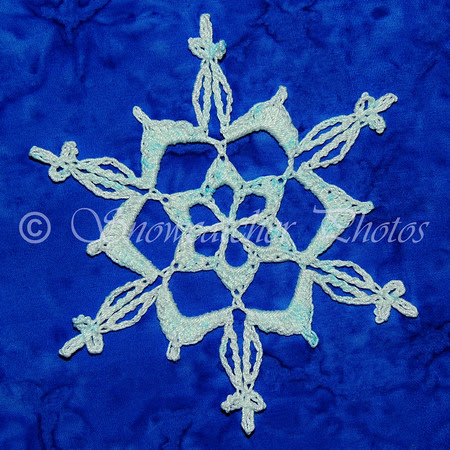 Copper-dyed Copper Mountain Snowflake