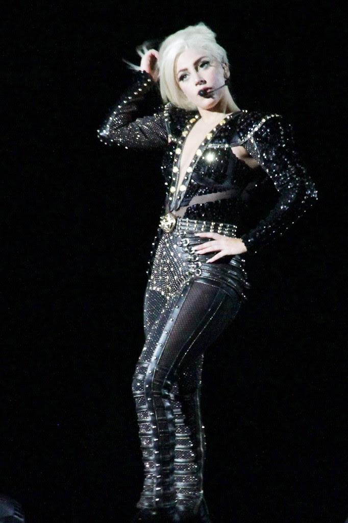The Born This Way Ball Tour in Milan - Lady Gaga Photo ...