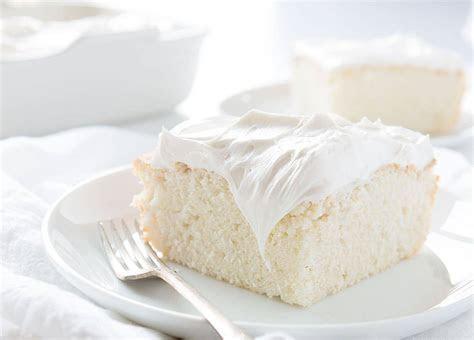 White Cake Recipe   i am baker