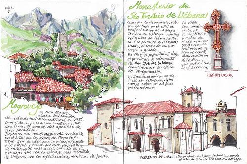 Mogrovejo y el Monasterio de Santo Toribio de Liébana.