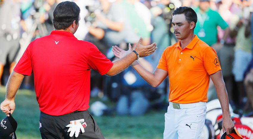 Fowler congratulates Reed on victory at The Barclays