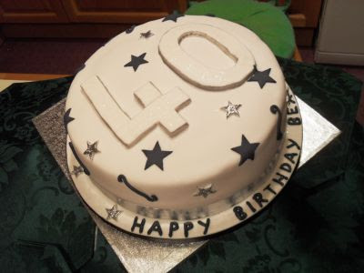 40th Birthday Cakes On Mens Site Created By Celebration Alfreton