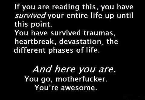 To Anyone Having A Bad Day Or Going Through Some Kind Of Trouble