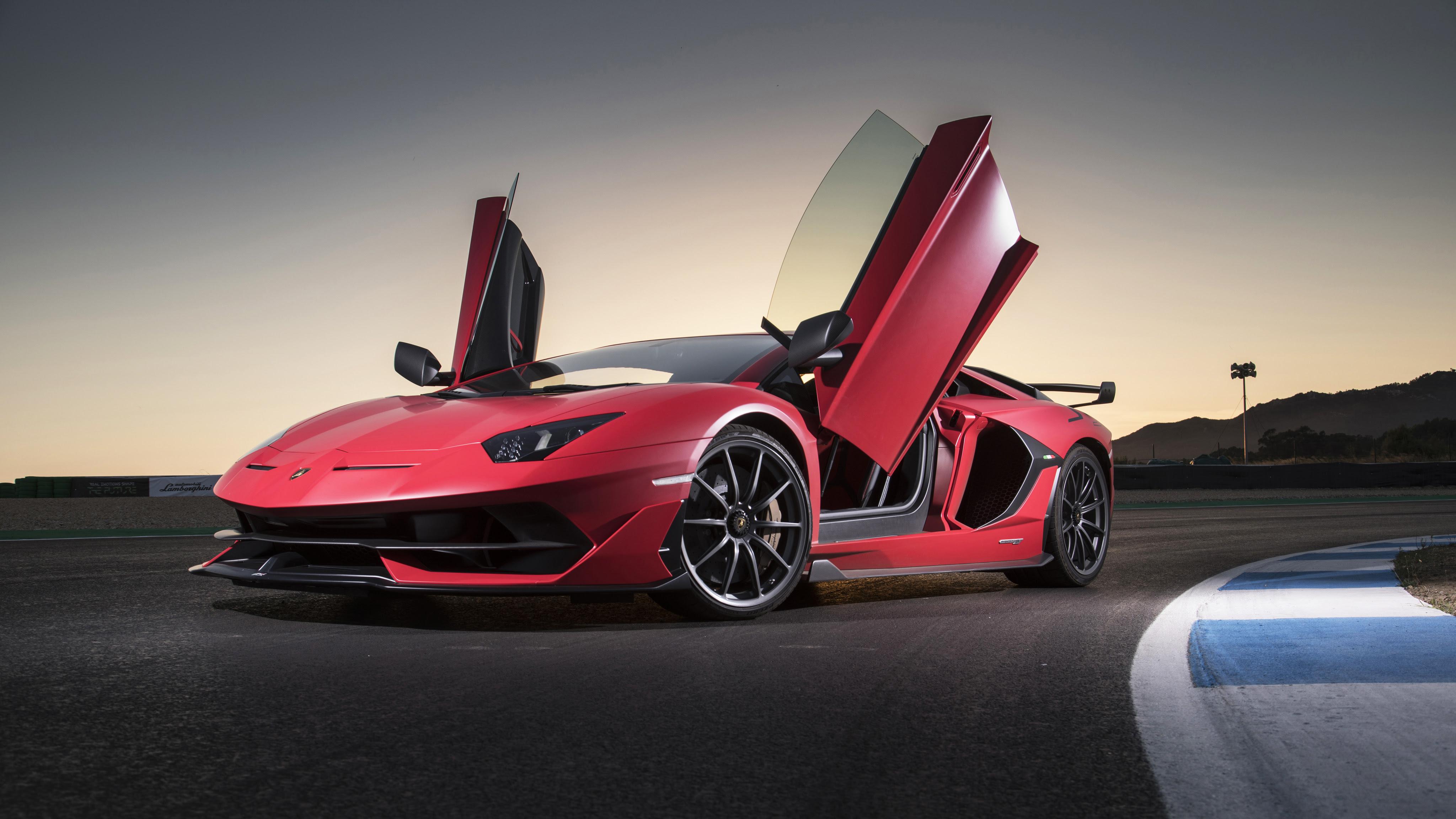 Black Lamborghini Car 4k Wallpaper