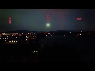 Extrañas Luces Sobre Canberra Australia / Strange Lights Over Canberra Australia