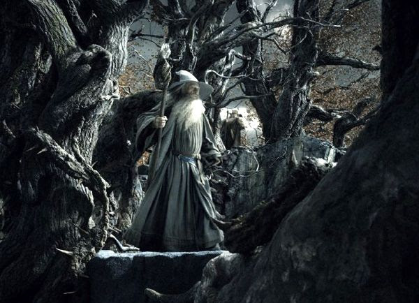 Gandalf (Ian McKellen) is the first to officially discover that Sauron is back in THE HOBBIT: THE DESOLATION OF SMAUG.