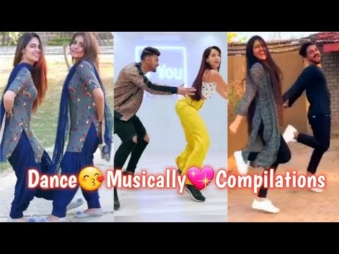 "BEST ""INDIAN MUSICALLY😘DANCE COMPILATION VIDEOS 2019"" NEWEST DANCE TIK TOK MUSICAL.LY 